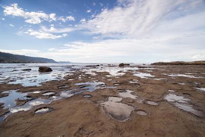 rock pools at sandon point