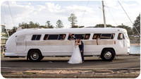 Vintage Wedding Bus