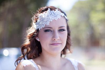 Shallow depth of field Bride
