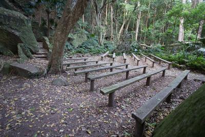 Mt Keira scout camp bush chapel
