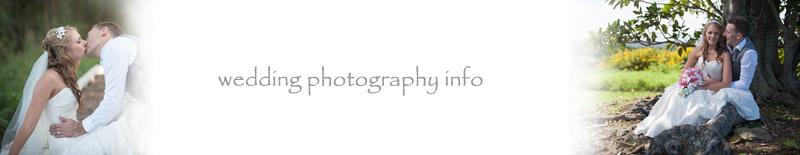 wedding photography info